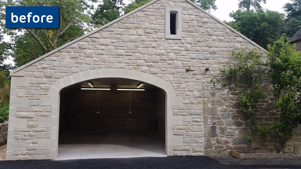 Before And After Gallery The Door Depot Garage Door Supply