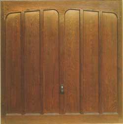 Up & Over GRP Infill Sample Door - Hörmann 2034 - Penhurst (Wide Grain)